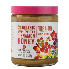 Madhava Organic Whipped Cinnamon Honey