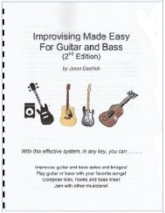 Improvising Made Easy For Guitar and Bass
