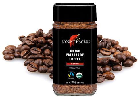 Mt. Hagen Instant organic coffee